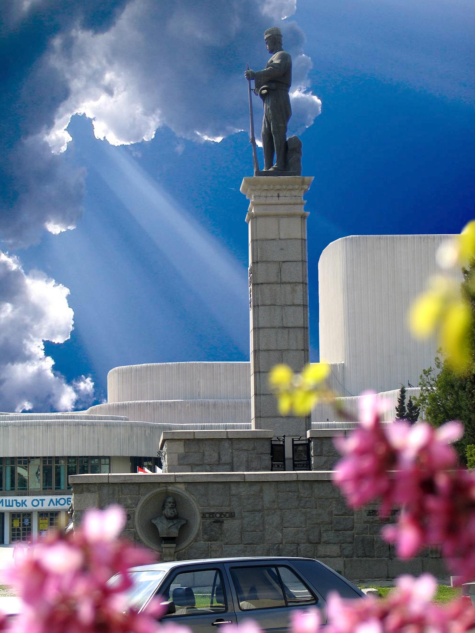 Паметника на Хаджи Димитър