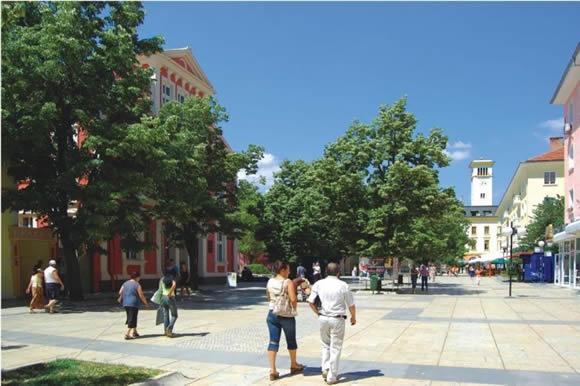 Главната улица на града